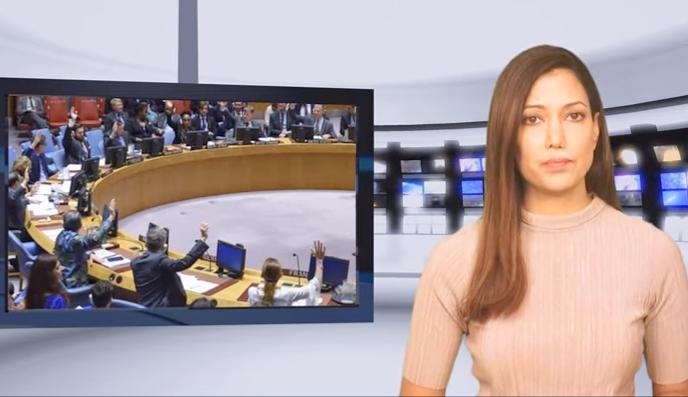 Illustration: ECOSOC Vote, Screenshot (Boomerang's YouTube Weekly Terror Report 01:31)