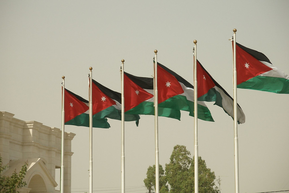 "Illustration: ""Jordan flag"" by Vyacheslav Argenberg, Uploaded by Smooth_O) [CC BY 2.0], via Wikimedia Commons"