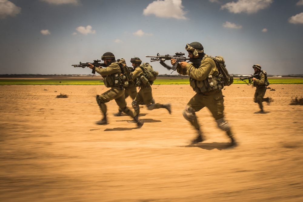 IDF Storms Gaza by Israel Defense Forces is licensed under CC BY-NC 2.0
