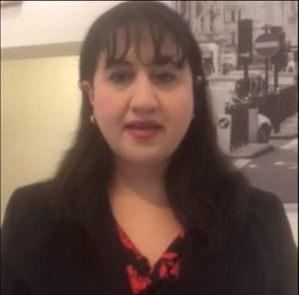 Dr. Heba Melhem (Image Credit: YouTube Screenshot Courtesy Jordanian Opposition Coalition)