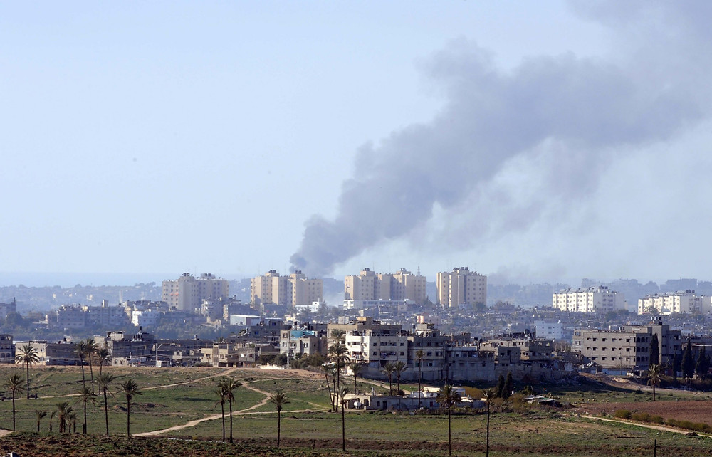 Airstrike on Gaza rockets (Image credit: Avi Ohayon/Government Press Office of Israel)