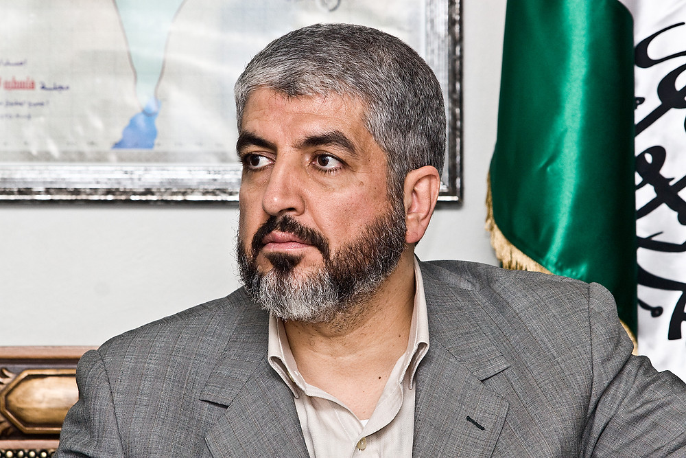 Hamas leader Khaled Meshaal (Image credit: Trango (Own work) [CC BY 3.0 (http://creativecommons.org/licenses/by/3.0)], via Wikimedia Commons)