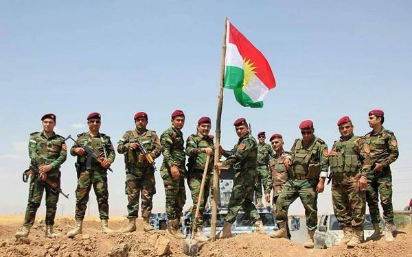 Kurdish Peshmerga forces (Image credit: Erfan.Kurdi (Own work) [CC BY-SA 4.0 (https://creativecommons.org/licenses/by-sa/4.0)], via Wikimedia Commons)