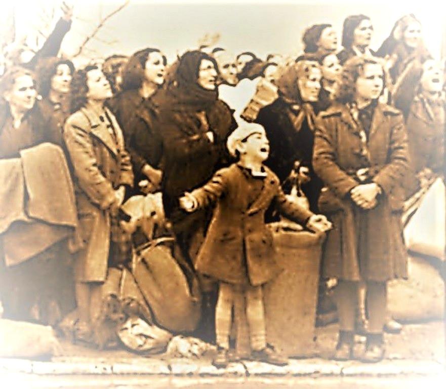 Illustration: Deportation of Greek Jews by Wetzel, Bundesarchiv, Bild 101I-179-1575-15 [CC-BY-SA 3.0, CC BY-SA 3.0 de] via Wikimedia