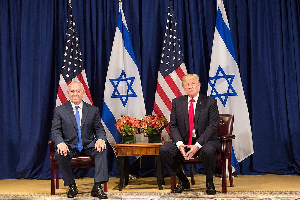 President Donald J. Trump and Prime Minister Benjamin Netanyahu, Official White House Photo by Shealah Craighead (Public Domain)