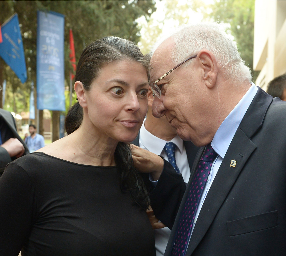 Merav Michaeli and President Reuven Rivlin (Image credit: Mark Neyman/Government Press Office of Israel)