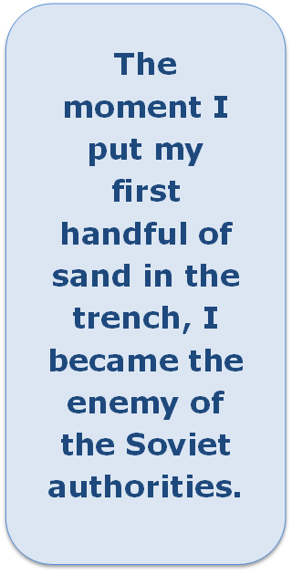 Quote: The moment I put my first handful.....