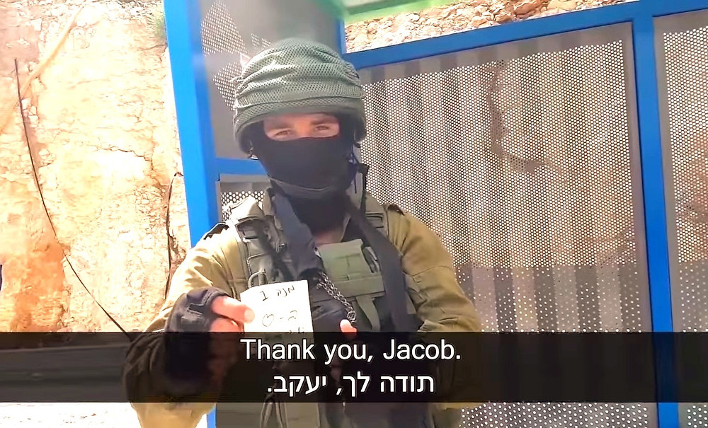 """Thank you, Jacob,"" Screenshot (Boomerang's YouTube Weekly Terror Report 01:23)"