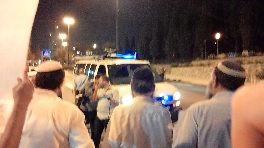 Itamar Ben-Gvir, Baruch Marzel, Bentzi Gopshtain (Image credit: Ari Yashar)