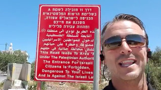 Watch: Apartheid? Found It - At the Entrance to Bethlehem