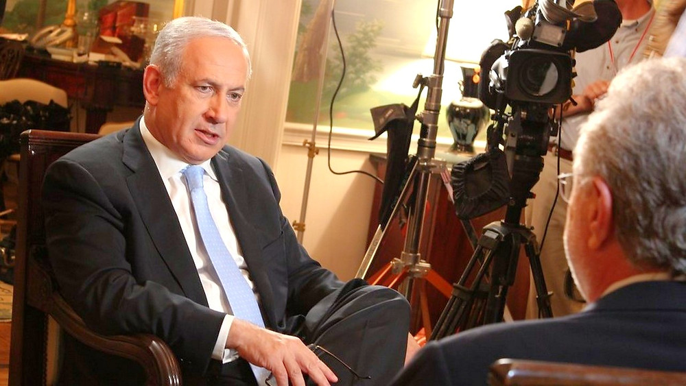 Illustration: Prime Minister Netanyahu Interview with CNN by IsraelinUSA (Embassy of Israel in Washington, DC), [CC BY 2.0] via Flickr