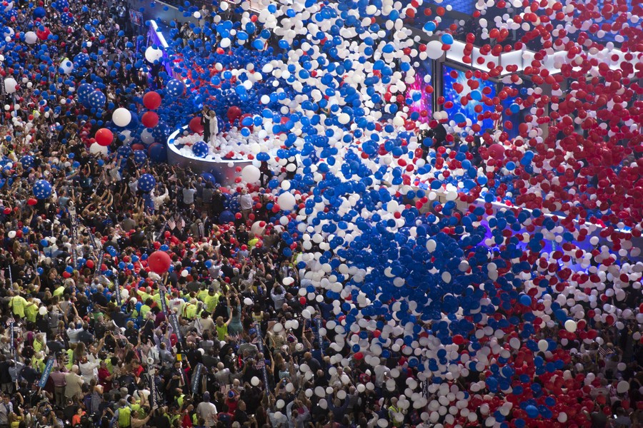 Democratic National Convention (Image credit: Lorie Shaull [CC BY-SA 4.0], from Wikimedia Commons)