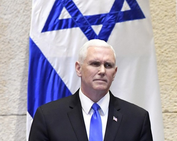 US VP Mike Pence at the Knesset (Image credit: U.S. Embassy Tel Aviv [CC BY 2.0 (http://creativecommons.org/licenses/by/2.0)], via Wikimedia Commons)