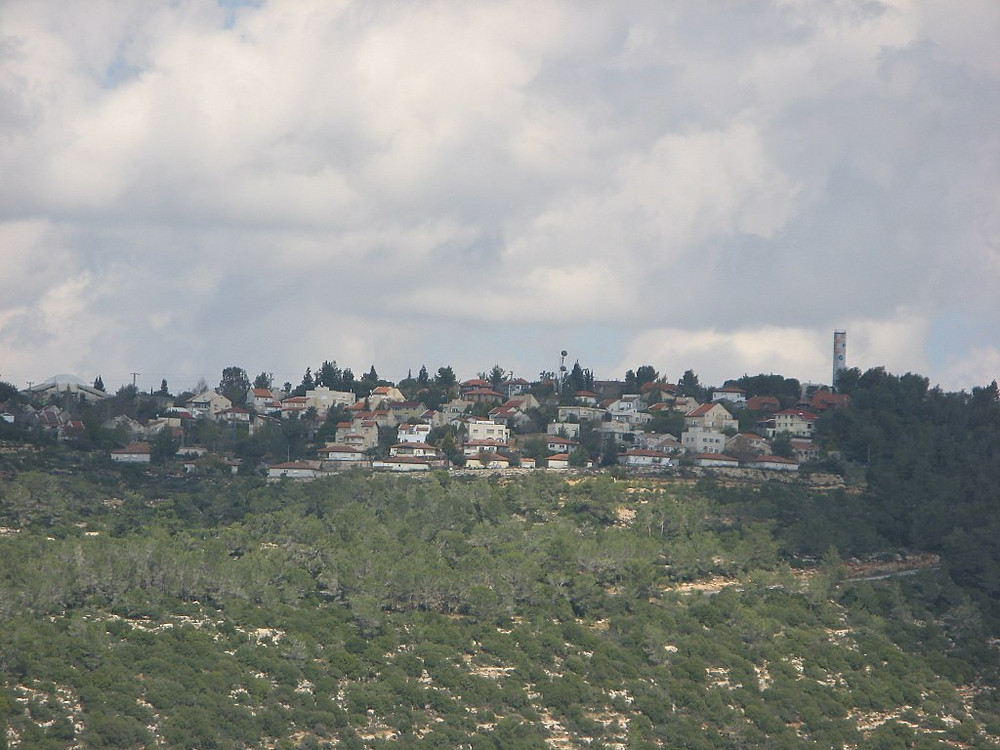 Neve Tsuf from south by יעקב (Own work) [CC BY-SA 3.0], via Wikimedia Commons
