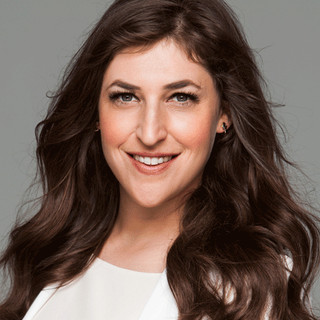 Weather: Clouds inside Mayim Bialik's storm?