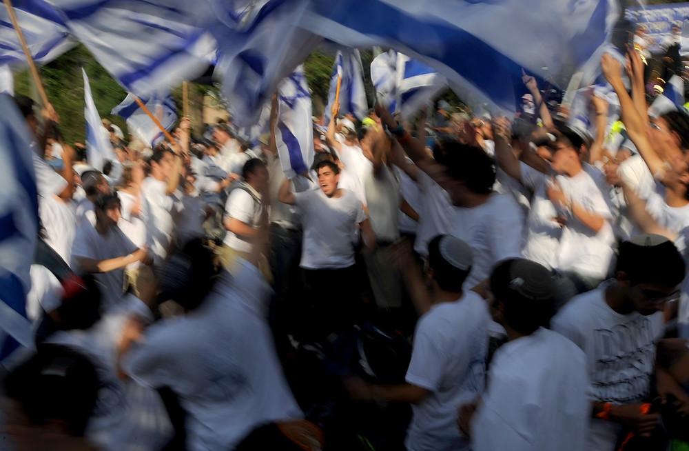 Illustration: Jerusalem Day Flag Parade (Image credit: Mark Neyman/Government Press Office of Israel)