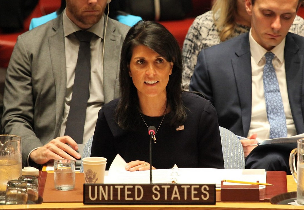 US Ambassador to the UN Nikki Haley (Image credit: U.S. Mission to the U.N. via Flickr)