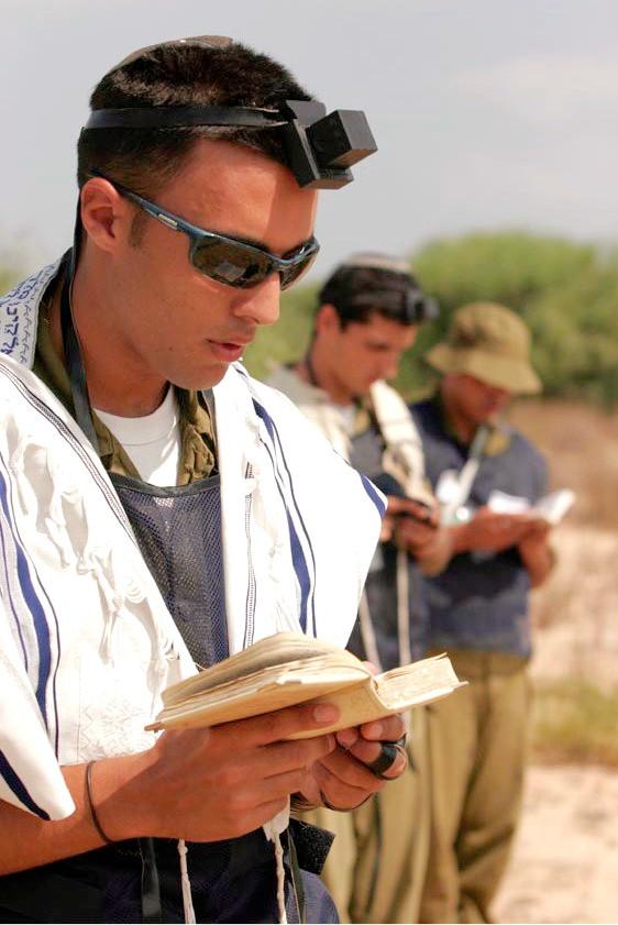 Illustration: Morning Prayer by Israel Defense Forces [CC BY-SA 2.0] via Flickr