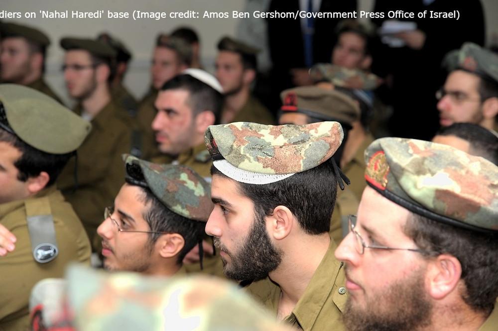 Nahal Haredi Army Base (Credit: IDF)