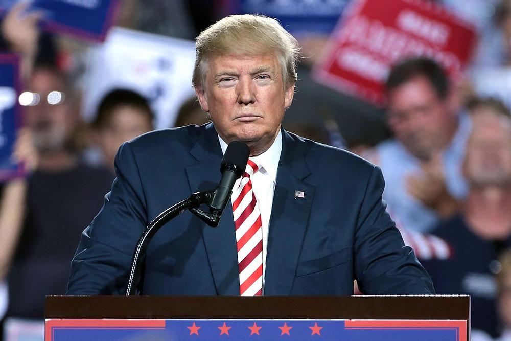 US President Donald Trump by Gage Skidmore, [CC BY-SA 2.0], via Wikimedia