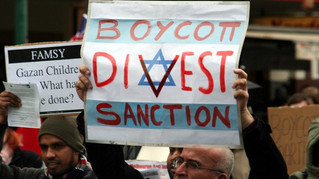 INTO THE FRAY: The Anti-BDS Effort - Targeting The Symptoms, Not The Sickness
