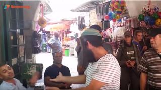 Watch: Jew Confronts Israeli Arabs over Terror Support in Arabic