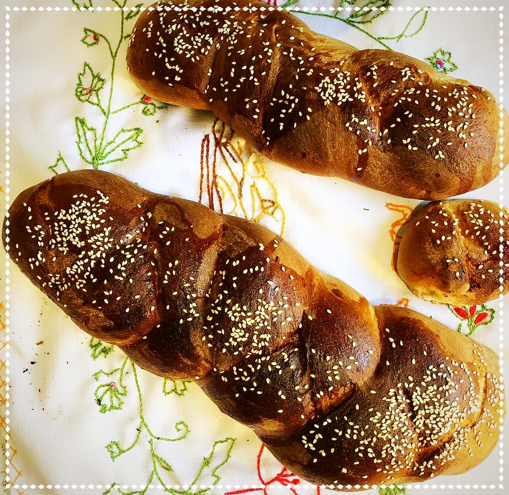 Homemade Challah (Image Credit: Dr. Barry Lynn)