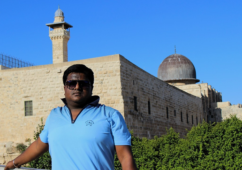 Devdutta Maji at The Temple Mount by N. Sher