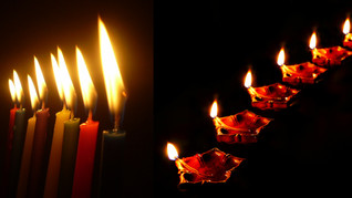 Chicago's Hindus and Jews Celebrate Light Together