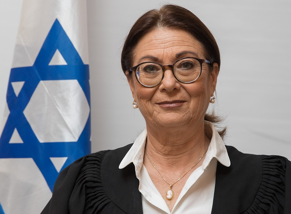Supreme Court President Esther Hayut (Image credit: The Judiciary of Israel [CC BY-SA 4.0] via Wikimedia)