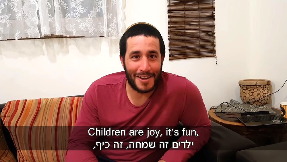 """Children are joy; it's fun"", Screenshot (Boomerang's YouTube Weekly Terror Report 02:27)"
