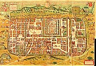 Map of Jerusalem 1584 by Christian Kruik van Adrichem - The National Library of Israel Collections [Public Domain] via Wikimedia