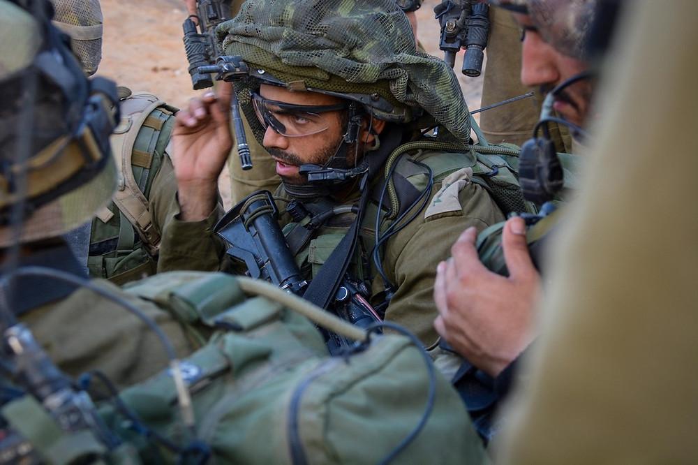 Illustration: IDF Paratroopers in Gaza (Image credit: Israel Defense Forces (CC BY-SA 2.0) via Flickr)