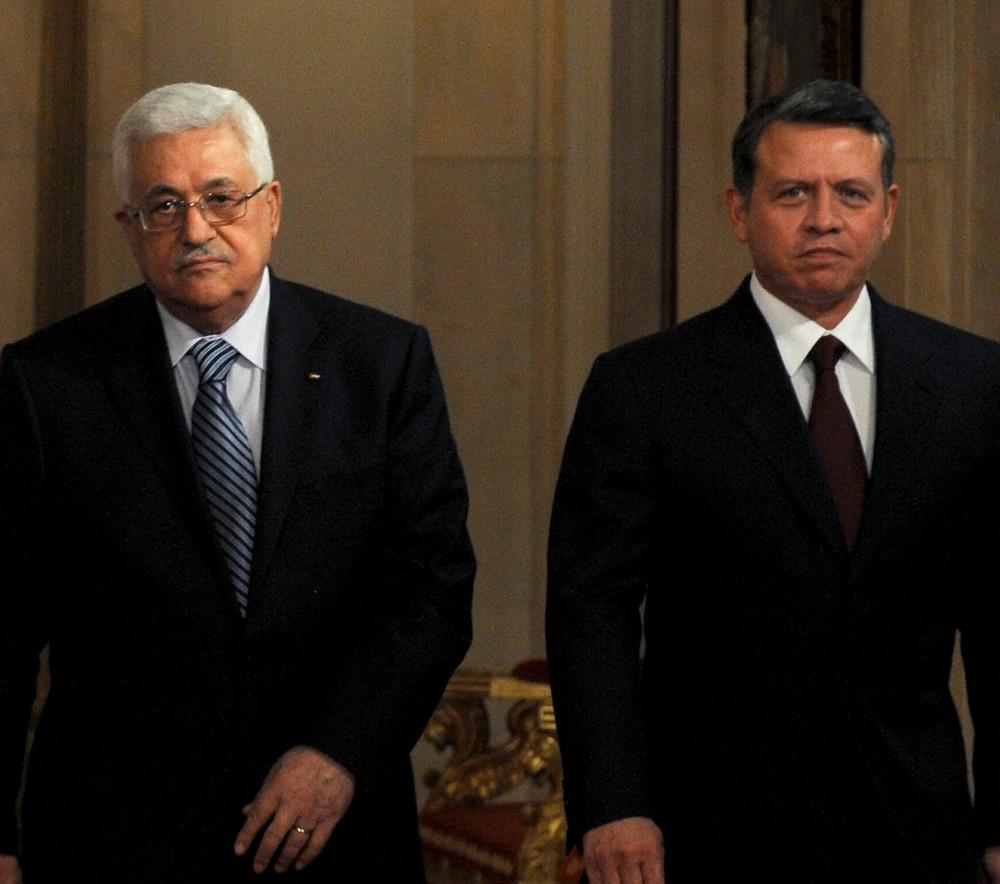 Mahmoud Abbas and King Abdullah II (Image credit: Moshe Milner/Government Press Office of Israel)