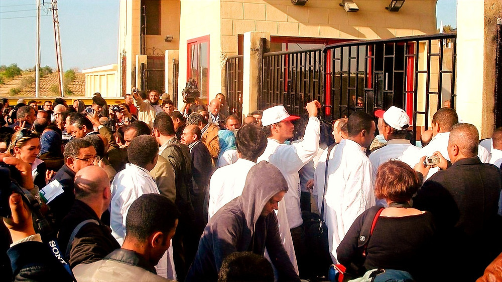 Illustration: Rafah Border Crossing to Gaza by Al Jazeera English [CC BY-SA 2.0] via Wikimedia