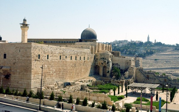 The Southern Wall of the Temple Mount (Image credit: Moshe Milner/Government Press Office of Israel)