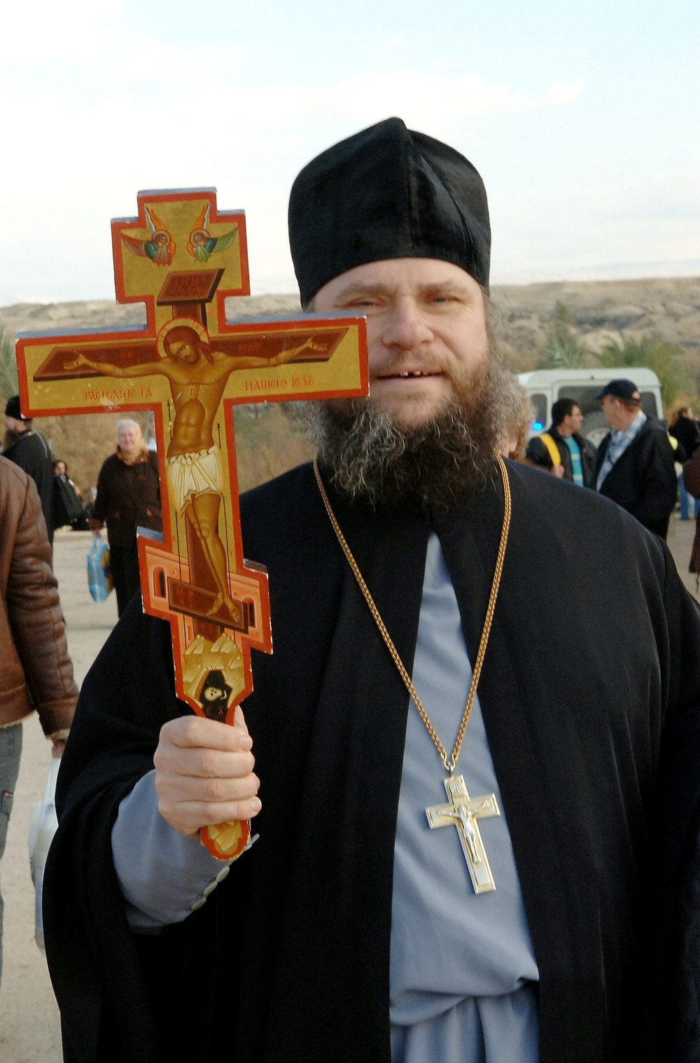 Illustration: Christian Orthodox Priest (Image credit: Milner Moshe/Government Press Office of Israel)