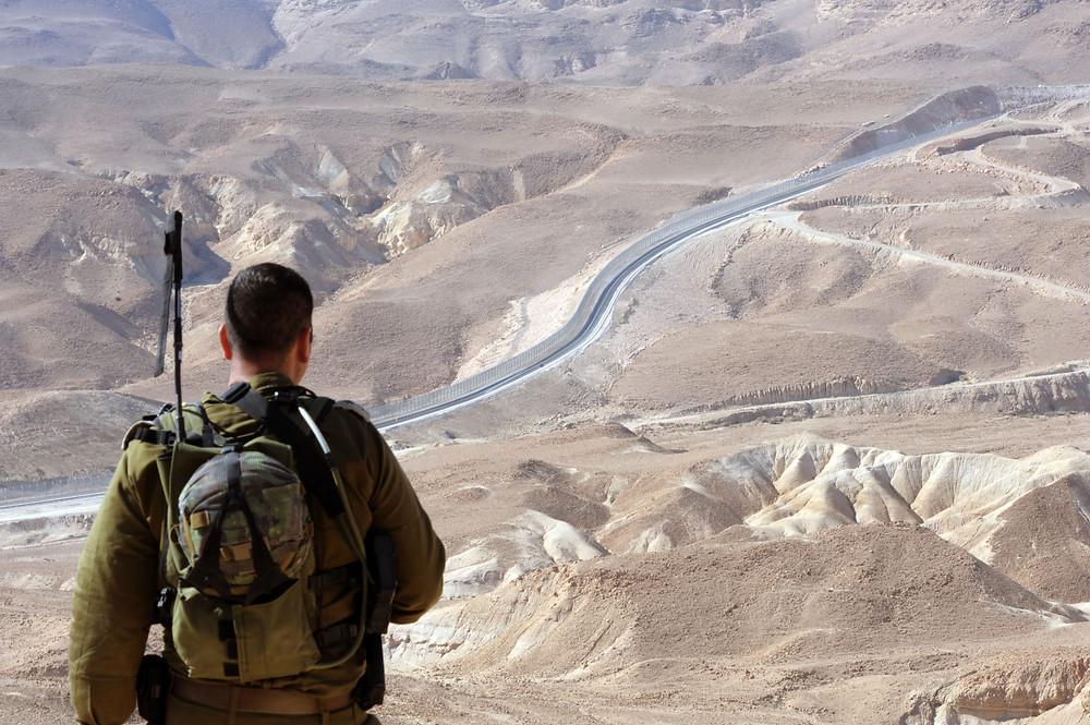 Illustration: IDF soldier (Image credit: Moshe Milner/Government Press Office of Israel)