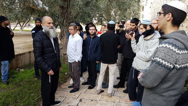 Rabbi Yehuda Kroizer (Image credit; Michael Miller)