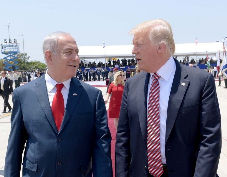 Binyamin Netanyahu and Donald Trump (Image credit: StateofIsrael (CC BY 2.0) via Flickr)