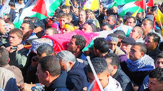 Mourning Terrorist Murderers in Tel Aviv