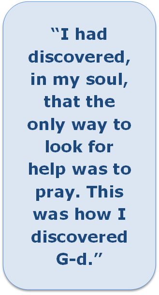 Quote: I had discovered in my soul....