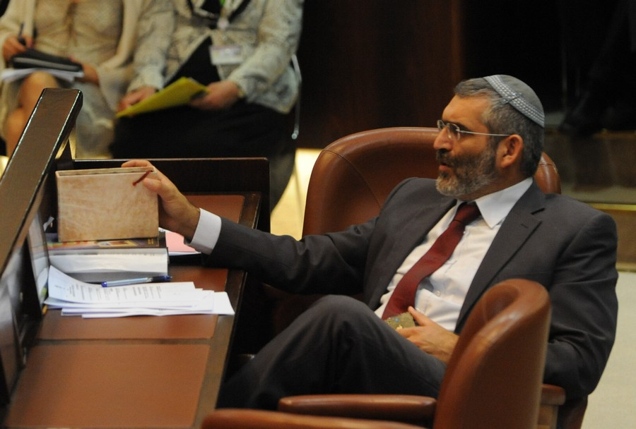 Otzma Yehudit Chairman and then National Union MK Dr. Michael Ben-Ari in the Knesset (Image credit: Moshe Milner/Government Press Office of Israel)