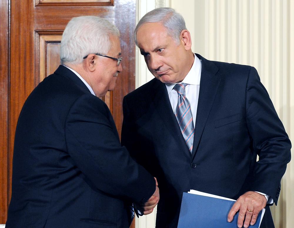 Mahmoud Abbas, Binyamin Netanyahu (Image credit: Government Press Office of Israel)