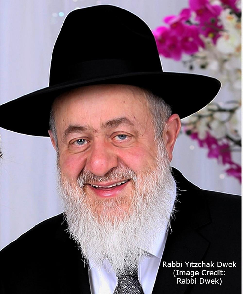 Rabbi Yitzchak Dwek (Image Credit: Rabbi Dwek)