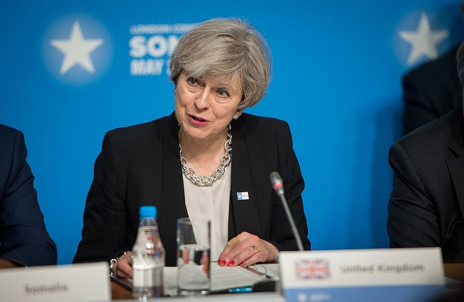 UK PM Theresa May (Image credit: Jim Mattis (170511-D-GY869-0152) [Public domain], via Wikimedia Commons)