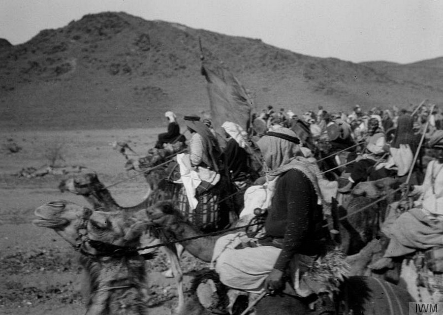 T E Lawrence and the Arab Revolt fromthe Imperial War Museums [Public Domain via Wikimedia]