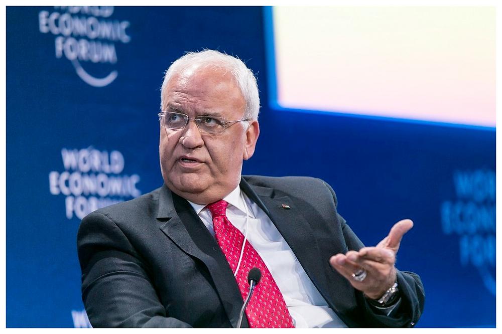 Saeb Erekat by World Economic Forum [CC BY-NC-SA 2.0] via flickr