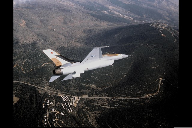IAF F-16 in Flight (Image Credit: Moshe Milner/Government Press Office of Israel
