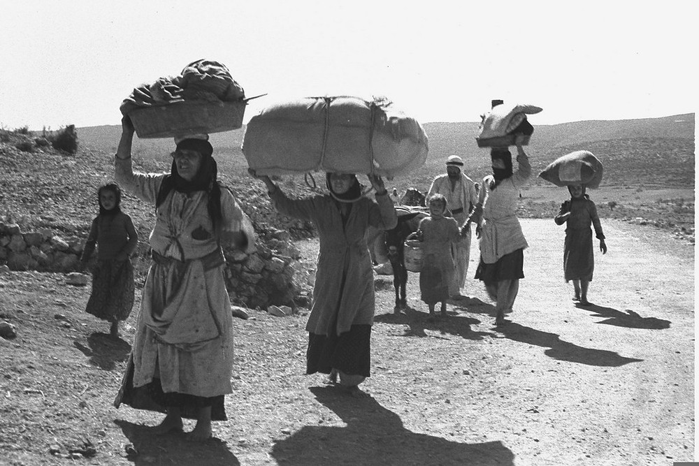 Illustration: Arabs (Image Credit: David Eldan/Government Press Office of Israel)